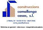 Construccions comallonga casas, s.l.