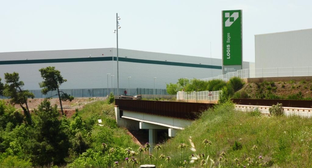 Pol gono industrial plans de la sala logisbages de sallent for Plan de la sala de 40m2